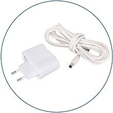 Conector de enchufe y de USB