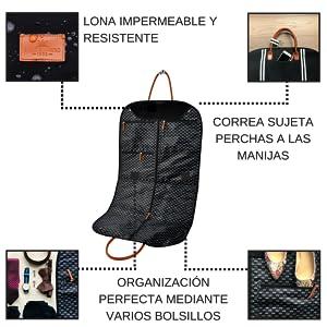 Saint Maniero ® Funda de diseño para Trajes y Vestidos hasta la ...