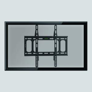 Eono Essentials - Soporte de Pared Fijo para televisión de 23-55 Pulgadas - Capacidad de Carga de 40 kg, VESA 400 x 400 mm: Amazon.es: Electrónica