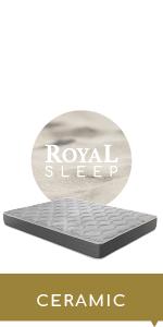 ROYAL SLEEP Colchón viscoelástico Carbono 150x190 firmeza ...