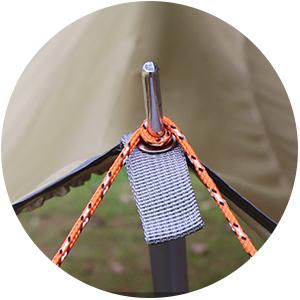 Excelente rendimiento de protección, con tela especial antidesgarre 190T impermeable con recubrimiento plateado. Protección UV, lona grande con mucho ...