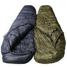 Puede hacer un doble saco de dormir fácilmente y es bueno poder dormir uno junto al otro después de un largo día en la carretera.