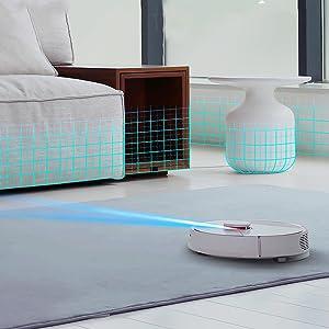 LDS. robot vacuum. Robot Aspirador