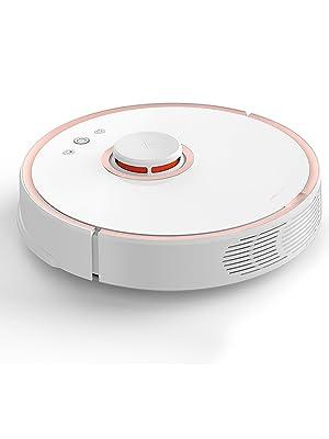 roborock S5 Robot Aspirador y Fregona, Robot Aspirador con Aspiración Potente de 2000Pa y Conectividad Wi-Fi, Navegación Inteligente y Batería con ...
