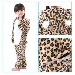 b17b6da432 Niña Niño Unisex Animales Combinación de Disfraces de Halloween la fiesta  de Pijamas de Camisón