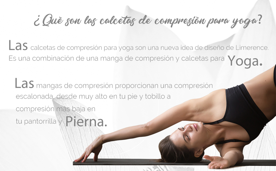 Limerence Calcetines Pilates Yoga Mujer Antideslizantes ...