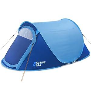 Active Era Tienda Instantánea de Campaña Pop-Up Premium para 2 Personas: 100% Impermeable - con Ventilación Avanzada y Diseño Duradero Camping y ...