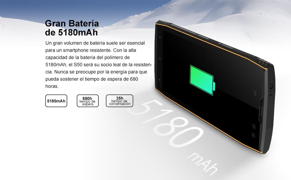 DOOGEE S50-5.7 Pulgadas (relación 18: 9) IP68 Impermeable ...