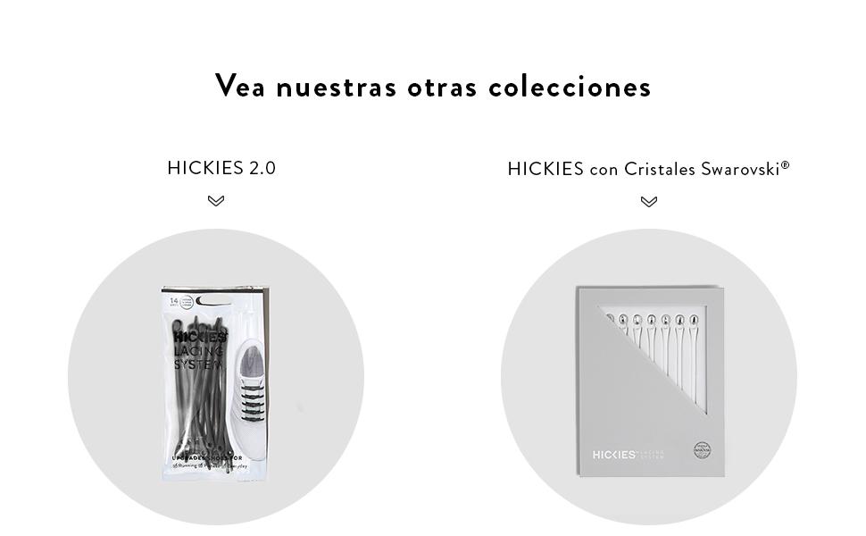 HICKIES Cordones Tie-free para niños - Azul/Lima: Amazon.es ...