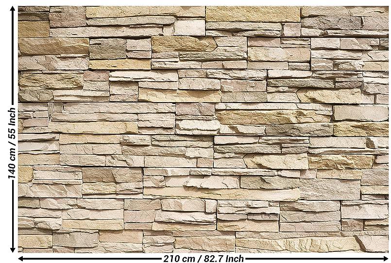 tapiz de foto ptica de piedras 3d mural decoracin tapices de piedras muro decoracin de pared pared de piedras pizarra arenisca muro de piedras stonewall - Pared Piedra