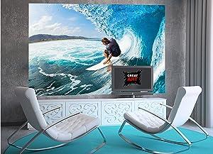 Foto tapiz mar ola 210 x 140 cm - 5 piezas ...