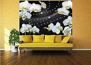 Murales Flores orquídeas 210 x 140 cm - 5 piezas ...