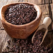 Puntas de Cacao Orgánicas Crudas (Nibs), Chocolate Negro Puro ...