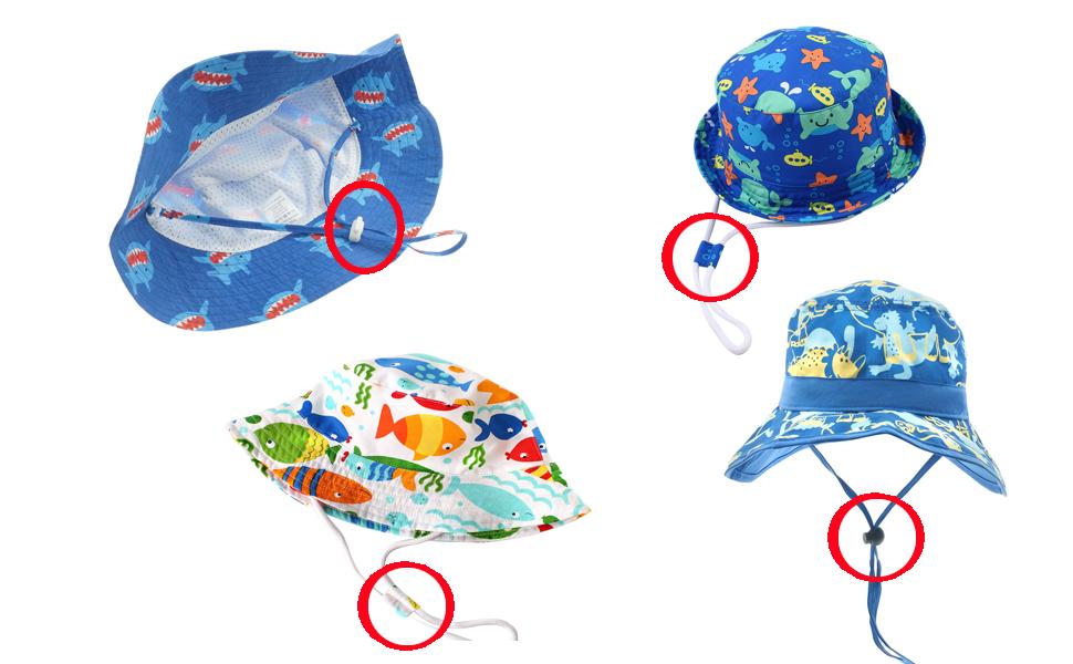 Happy Cherry - Sombrero para Bebes Niña Niño de 3 Meses