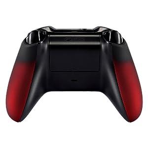 eXtremeRate Funda Delantera Carcasa Frontal Protectora de la Placa Cubierta con Agarre Antideslizante Asa Mango Esmerilado para el Mando del Xbox One ...