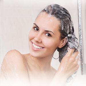 Forma de aplicación: Mezcla 3 gotas con 100ml de champú, mezclarlo uniformemente y seguido lavarse el cabello. (Dos veces a la semana)