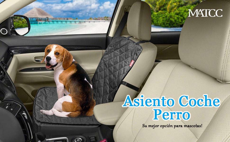 MATCC Protector de Coche para Perros Funda de Coche para Perros ...