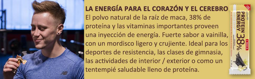 GoMo ENERGY® 38% BARRITAS PROTEÍNA│Programa de aumento de la ...