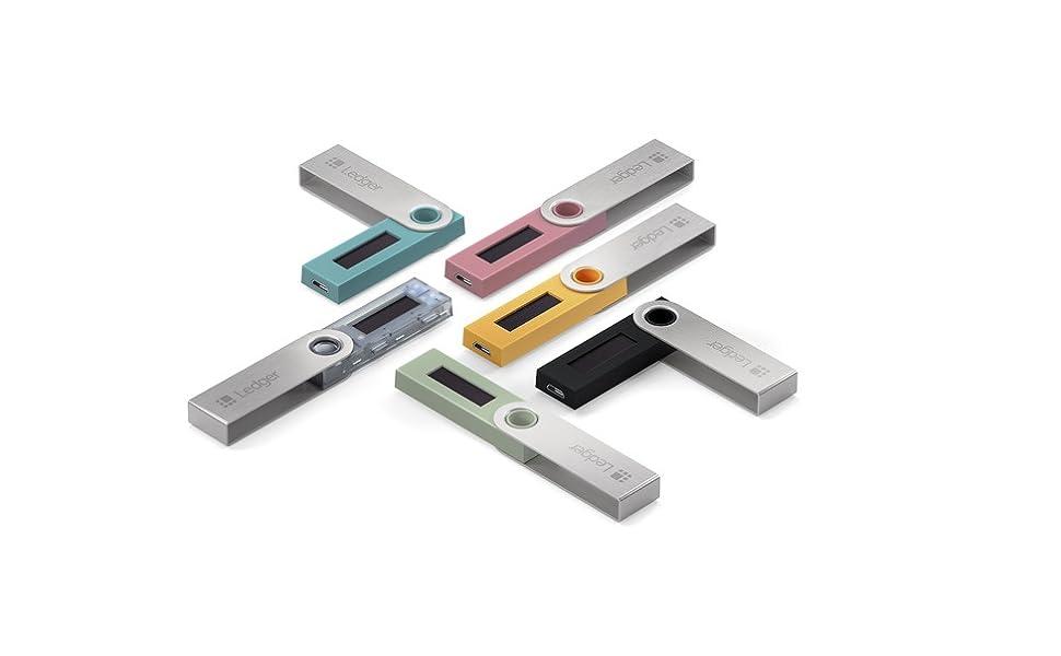 Ledger Nano S - V1.4 - Monedero Hardware de criptomonedas ...