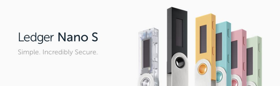 Ledger Nano S - V1.4 - Monedero Hardware de criptomonedas - Transparent
