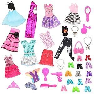 Amazon.es: Miunana 10 Piezas Vestido Fashion Falda Mini Fiesta ...