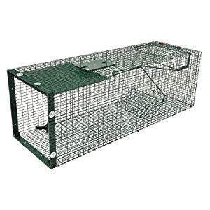 trampa para animales vivos grandes 1 entrada gatos conejos zorros martas