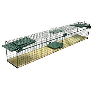 Moorland Trampa para Animales Vivos 100x15x19 cm - 2 Entradas ...
