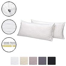 fundas para almohadas Jette de Beaautissu 40x80 cm diversos colores