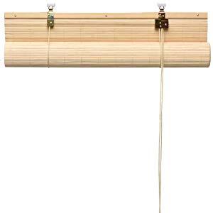 Sol Royal SolDecor B86 Persianas de bambú Estor bambú Ventanas klemmfix Robusto Madera Calidad 120x160 cm Natural