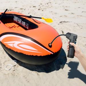 compresor aire portatil de bateria bomba inflador