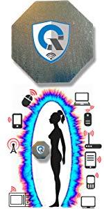 Protección EMF TELÉFONO CELULAR Protección radiológica Tesla Tech: EMF Shield · 10 en 1 de protección EMF Tesla. PREMIO como protección de radiación EMF ...