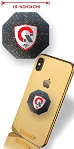 Protección EMF TELÉFONO CELULAR Protección radiológica Tesla Tech: EMF Shield · Escudo de protección radiológica EMF: Medalla de oro EMF Neutralizer ...
