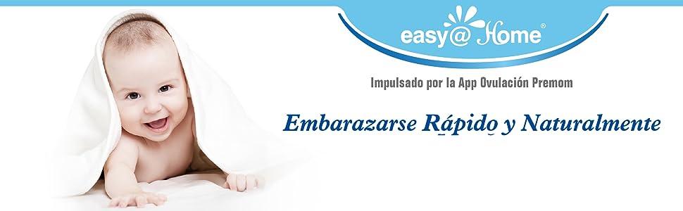 100 Pruebas de ovulación ultrasensibles (25mlU/ml), Easy@Home 100 Tests de Ovulación