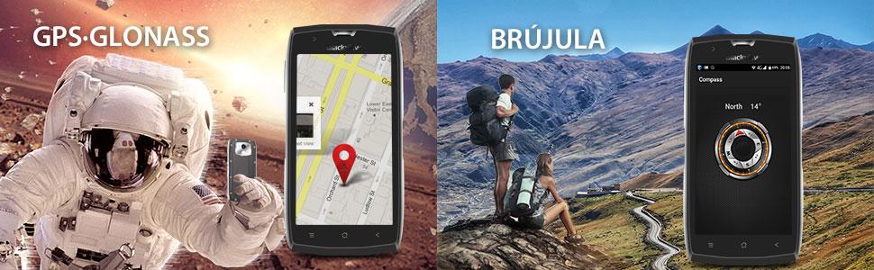 Outdoor Smartphone, Blackview BV7000 Rugged Phone IP68 Resistente al Agua, Golpes y Polvo, 5.0