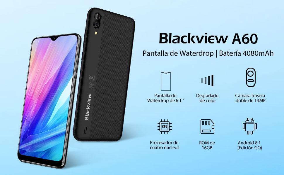 Blackview A60 Moviles 2020, Smartphone Libres (15.7cm) 19