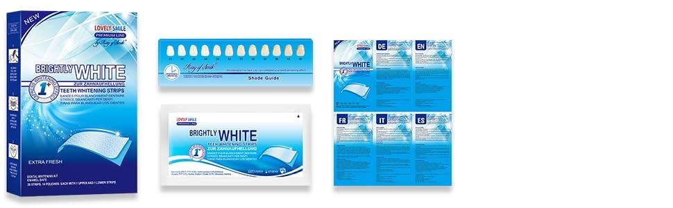Dientes blancos Bandas Blanqueadoras Dientes Blanqueamiento de dientes tiras whitestrips white strip