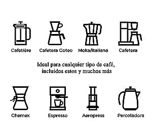Molinillo de café para todos los modelos