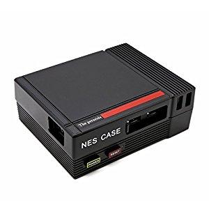 YIKESHU NESPI, Mini CAS multifonctionnel dordinateur Avec le ventilateur de refroidissement pour Raspberry Pi 3, 2 et B + (CAS de NES)