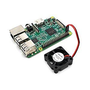 YIKESHU Raspberry Pi 3 Modelo B y NESPI Case y Pequeño Ventilador de CPU sin escobillas: Amazon.es: Electrónica