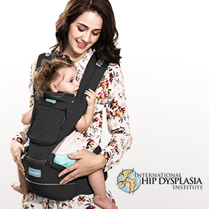 baby carrier with hip seat
