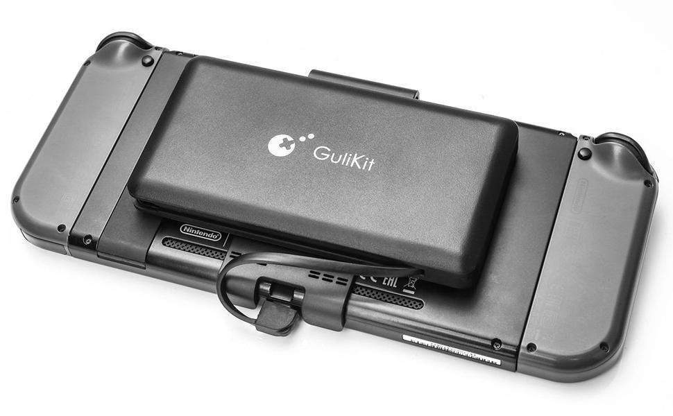 GULIkit Bateria Externa 10000mAh Power Bank para Nintendo Switch, 2 Puerto de Salida(USB C y USB) 5V/3A Carga Rápida Cargador Portátil Movil para iPhone iPad Samsung, Teléfonos Móviles, Tablet: Amazon.es: Electrónica