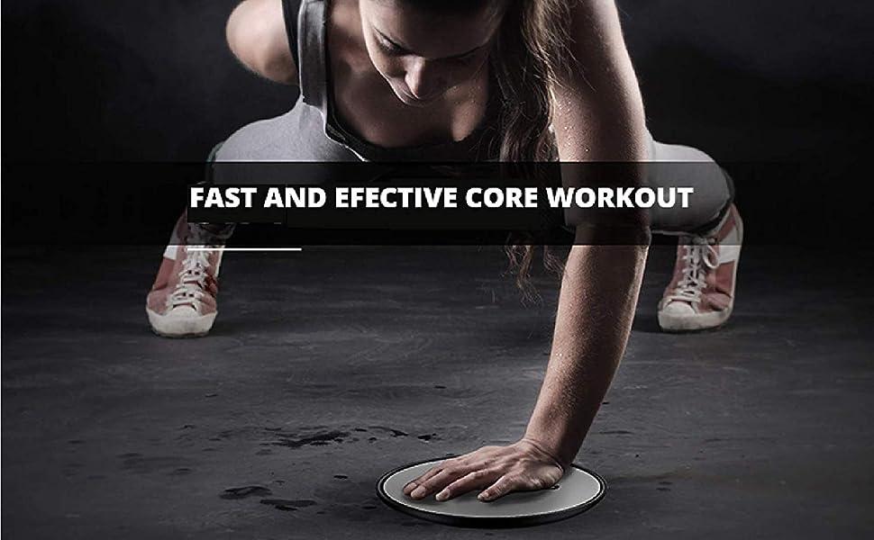 Discos abdominales deslizantes abdomen gym fitness crossfit core sliders