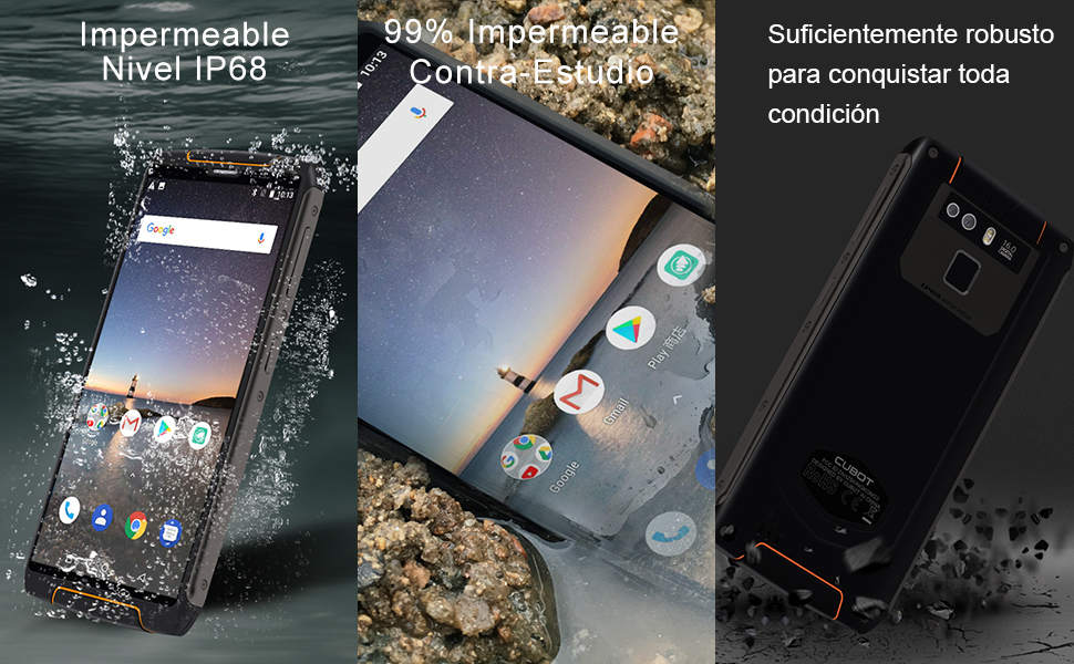 CUBOT King Kong 3 IP68 4G Móvil Libre Resistente Android 8.1 ...