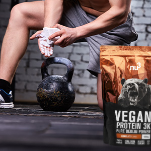 Proteína vegetariana para deportistas
