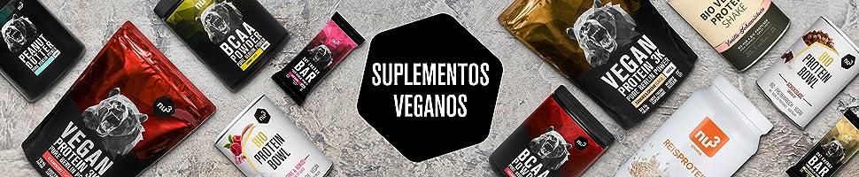 Proteína vegana de tres componentes de alta calidad – Proteína de guisante, de cáñamo y de arroz en un solo batido