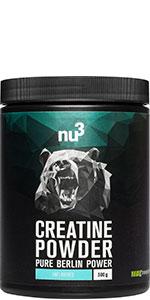 Creatina para crecimiento muscular
