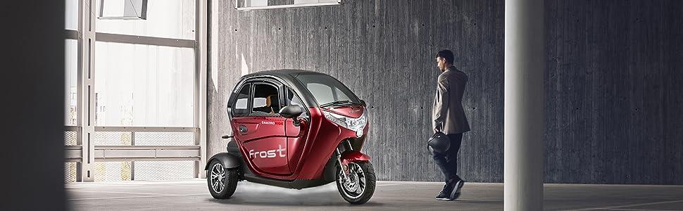 vehículo eléctrico de 3 ruedas