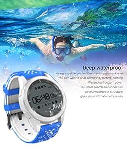 Roguci IP68 Bluetooth Smart Watch: Amazon.es: Electrónica