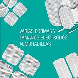 Varias formas y tamaños Almohadillas de electrodos