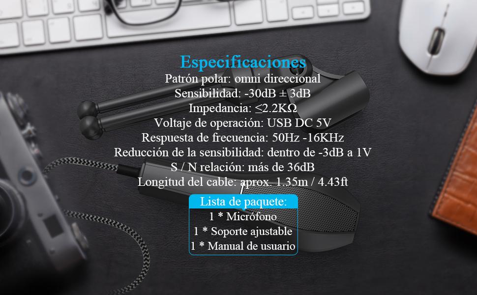 microfono de condensador